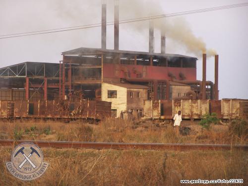Zdroje kontaminace v oblasti města Kabwe