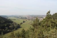 Pohled ze Schillerovy vyhlídky do údolí Střely a na Chyši, Vladimír Žáček, 2012