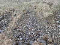 Okraj haldy po těžbě uranu u obce Okrouhlá Radouň, David Buriánek, 2013