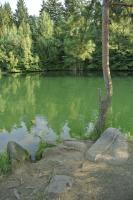 Zatopené jezero vzniklé po rekultivaci žulového lomu., Jan Doucek, 2012