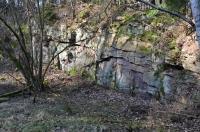 Lom v centru největšího tělesa leukokrátní muskovit-turmalinické ortoruly, tzv. přibyslavické ortoruly., Motyčková Kamila - Šír Jiří, 2015