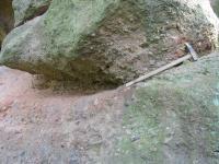 arkózovité valounovité pískovce - fosilní záznam divočícího toku nýřanských vrstev , Marcela Stárková, 2002
