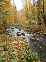 Malebné údolí řeky Chrudimky ve  Strádovském Pekle, Fotoarchiv Národního geoparku Železné hory, 2012