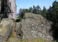 Skalní výchozy na vrcholu., Radek Mikuláš, 2014