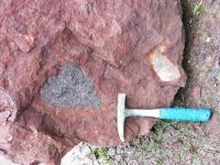 Uloženiny havajské erupce s úlomky hornin, Marcela Stárková, 2007