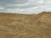 Celkový pohled na těžebnu fluviálních sedimentů., Pavla Tomanová Petrová, 2012