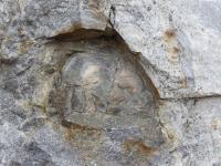 Poloha přeměněné horniny vápenato-silikátového složení uzavřená v okolních migmatitech., Kryštof Verner, 2012