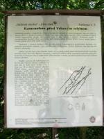 Lom poskytoval několik druhů horniny: migmatitizované ruly, amfibolity, svory a eklogity.  Pocházejí odtud zajímavé nálezy nerostů alpské parageneze. Informační tabule., Motyčková Kamila - Šír Jiří, 2005