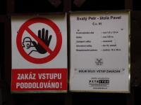 Důlní dílo Svatý Petr - uzavřená štola Pavel ústící v toku Svatopetrského potoka., Markéta Vajskebrová, 2017