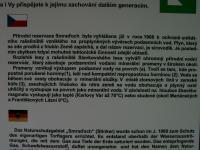 Rašeliniště s vývěry CO2 a sirovodíku. Informační tabule., Motyčková Kamila - Šír Jiří, 2006