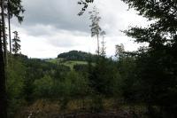 Pohled na Rudný vrch od severu z Vysoké skály., Pavla Gürtlerová, 2017