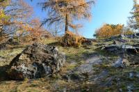Výrazný hřbet tvořený pevnými buližníky starohorního stáří představuje kamýk vypreparovaný erozní činností., Motyčková Kamila - Šír Jiří, 2012