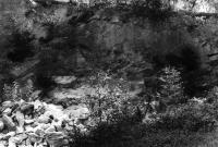 Lom ve slepencích při cestě k Vilemíně., Bohumil Červený, 1959